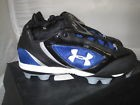 Underarmour Women's Glyde Softball Shoe Black/Royal
