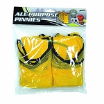 Franklin Sports All Purpose Youth Pinnies Pack of 6