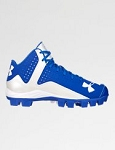 Under Armour Boy's Leadoff Mid Molded Baseball Cleats