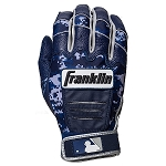 Franklin Sports Adult CFX Pro Digi Series Batting Gloves Navy/Navy Camo