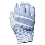 Franklin Sports Hi-Tack Premium Football Receiver Gloves - White - Adult