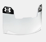 Underarmour Youth Football Visor, Clear