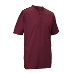 Easton Men's 2 Button Placket Baseball Jersey