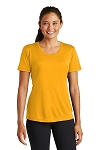 Women's or Men's  Short Sleeve Top In Black. Grey and Gold