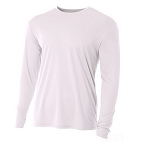 Men's A4  Long Sleeve Mousture Management Top