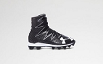 Under Armour Kids' Highlight RM Football Cleats, Blk/Wht