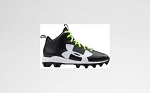 Under Armour Kids' Crusher RM Football Cleats, Blk/Wht