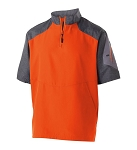 Holloway Batting Jacket Orange