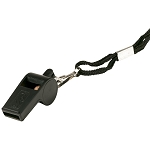 Franklin Sports Plastic Whistle with Lanyard