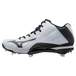 Mizuno Heist IQ Mid Cut Adult Men's Metal Baseball Cleat