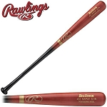 Rawlings 433M Big Stick Pro Maple Adult Wood Baseball Bat, Blk/Red