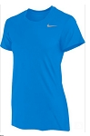 Nike Legend Short Sleeve Crew Neck Royal Shirt Women's