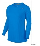 Nike Womens Legend Long Sleeve Royal Shirt