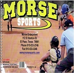 Morse Sports 25 Game Detailed Baseball/Softball Scorebook