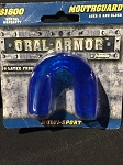 Franklin Sports Mouth Guard (no strap) Blue 11 years And Older
