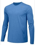 Nike Legend Long Sleeve Royal Shirt