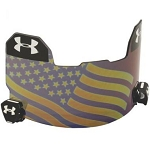 Under Armour Adult USA Hologram Mirror Football Visor