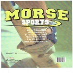 Morse Sports 18 Player Baseball/Softball Scorebook