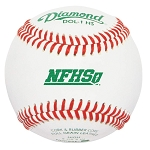 Diamond Dol-1 HS Official League Leather Baseballs,1 Dozen