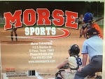 Morse Sports 24 Game Detailed Baseball/Softball Scorebook