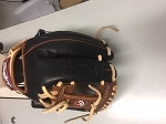 MORSE EXCLUSIVE GLOVE BLACK BROWN TAN