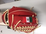MORSE EXCLUSIVE GLOVE RED BROWN TAN