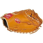 Pro Preferred 34 in Catcher Mitt 1-Piece Solid Web, Conventional Back Left  Throw Glove