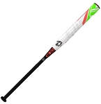 DeMarini CF7 -10 Fastpitch Softball Bat, White/Coral, 32-Inch/22Oz