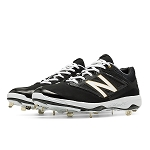 New Balance Low-Cut 4040v3 Metal Cleat Black/Blk