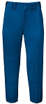 Mizuno Women's Select Belted Softball Pant, Royal