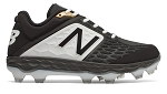 New Balance Men's Fresh Foam TPU Black/White Molded Cleat
