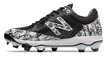 New Balance Pedroia TPU Mens Molded Baseball Cleats - Black/Camo