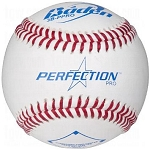 Baden 3B-NFHS Perfection Pro Leather Baseballs (1 Dozen)