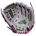 WILSON FLASH 11.5 INCH YOUTH FASTPITCH GLOVE, Right Hand Throw