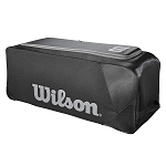 Wilson Sporting Goods Team Gear Bag on Wheels, Black
