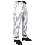 Rawlings Adult Pinstriped Relaxed Fit Flare Bottom Baseball Pant