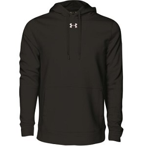 UA Hustle Fleece Hoody, Adult