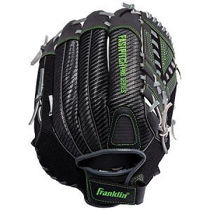 "Franklin Sports Fastpitch Pro Series Softball Gloves 12"" Lime"