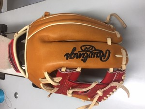 MORSE EXCLUSIVE GLOVE TAN RED