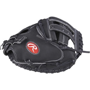 Heart of the Hide 33 in Fastpitch Catchers Mitt Pro H Web, Adjustable Pull Strap Back