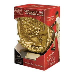 Rawlings Mini Gold Reward Gloves